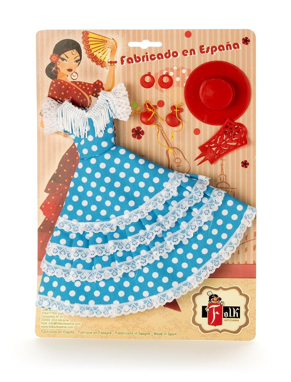 Véndelo tú mismo Vestido y complementos flamenca Folk Artesania muñeca Barbie Doll collection.: Juguetes y juegos