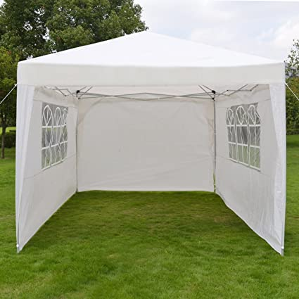 d9fc67d16a Image Unavailable. Image not available for. Color: 10'X13'EZ POP UP Folding  Gazebo Camping Canopy W/Carry Bag Wedding