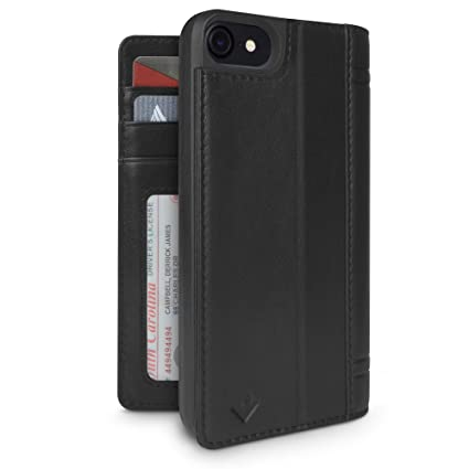 Amazon Com Twelve South Journal For Iphone 8 7 6 Leather Wallet