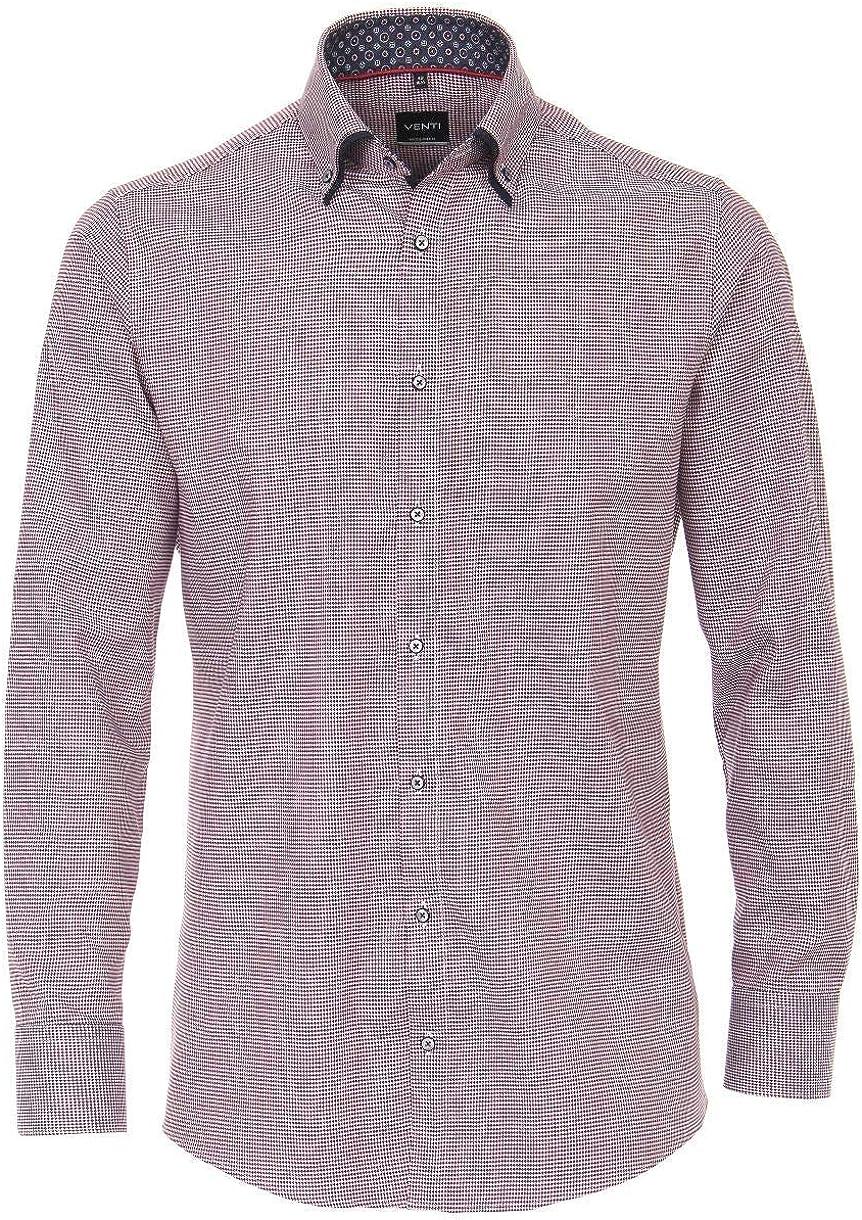 Venti - Camisa de manga larga para hombre, color blanco, azul ...