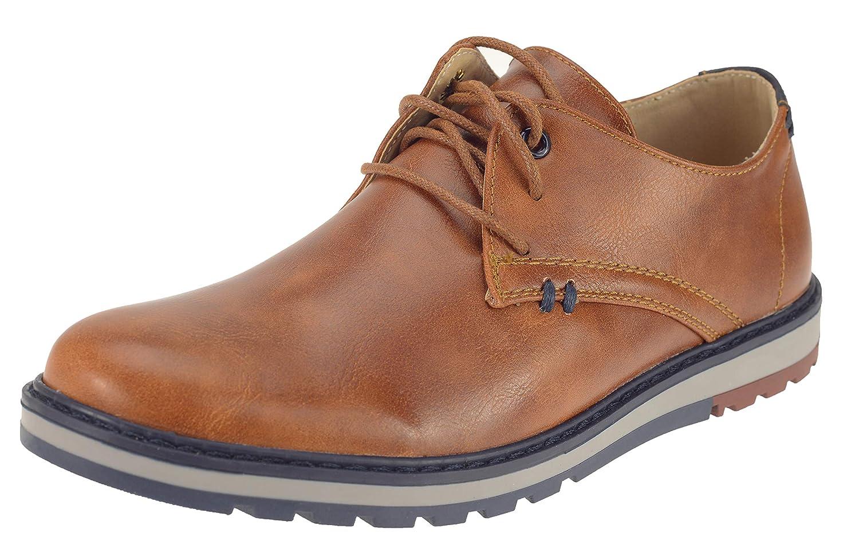 Elifano Footwear YHL5002 - Zapatos de Cordones de Sintético para Hombre