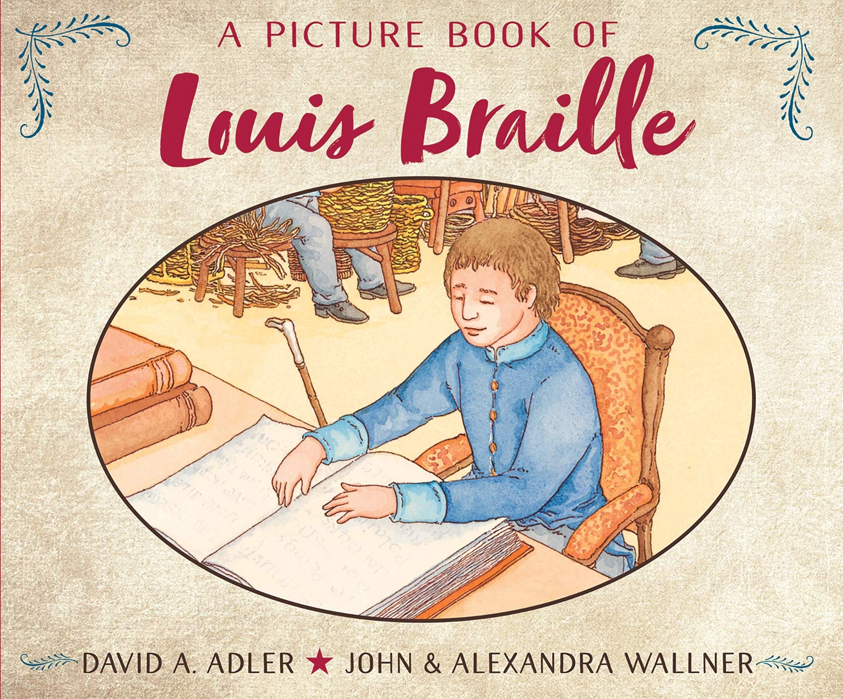 Picture Book of Louis Braille, A (Picture Book Biography): Amazon.co.uk:  Adler, A., David: 9780823444571: Books