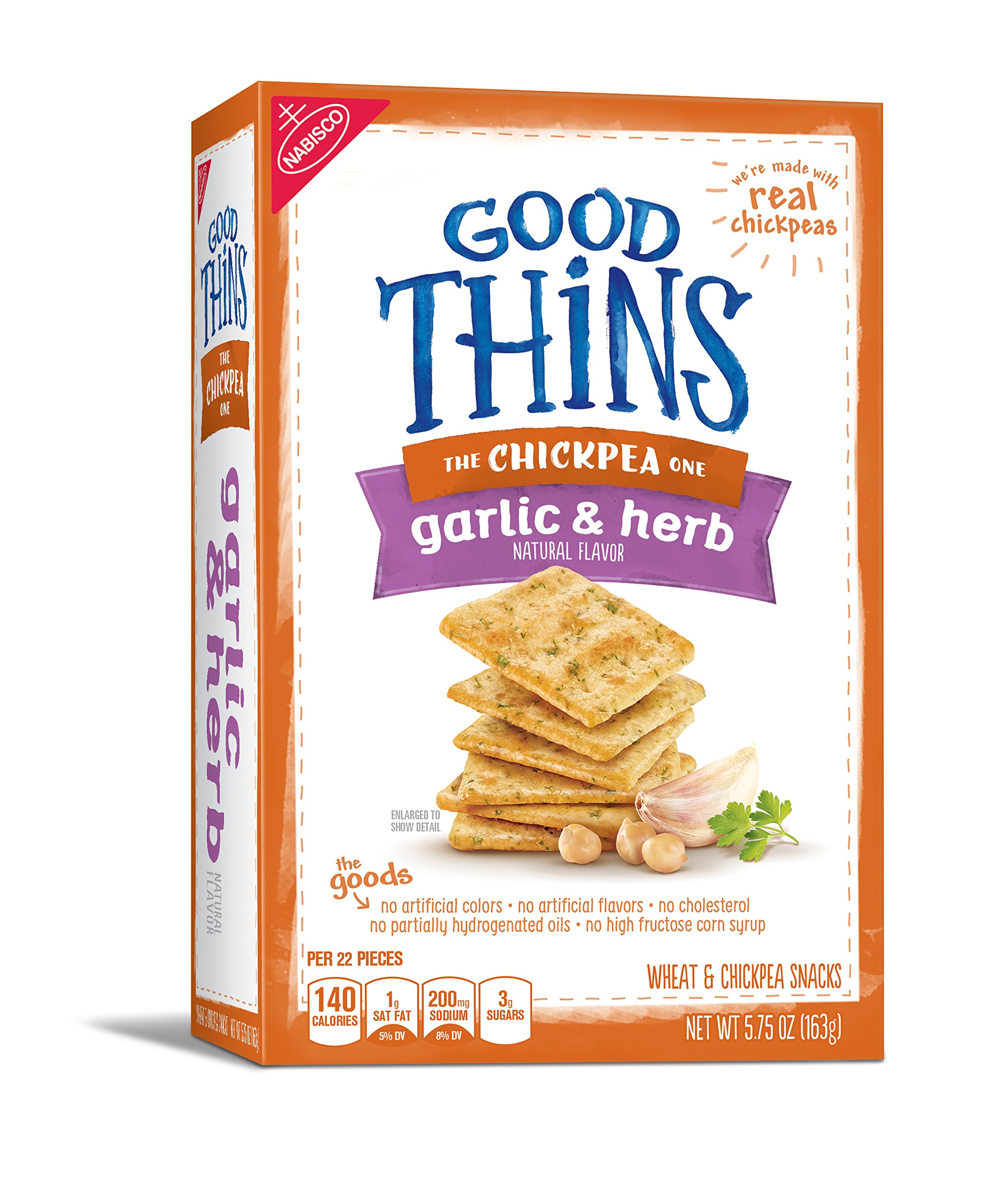 Amazon good thins beet crackers with balsamic vinegar sea good thins chickpea crackers garlic herb 575 ounce pack of solutioingenieria Choice Image