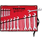 TEKTON 2008 Angle Open End Wrench Set, Inch, 3/8-Inch - 1-1/4-Inch, 14-Piece