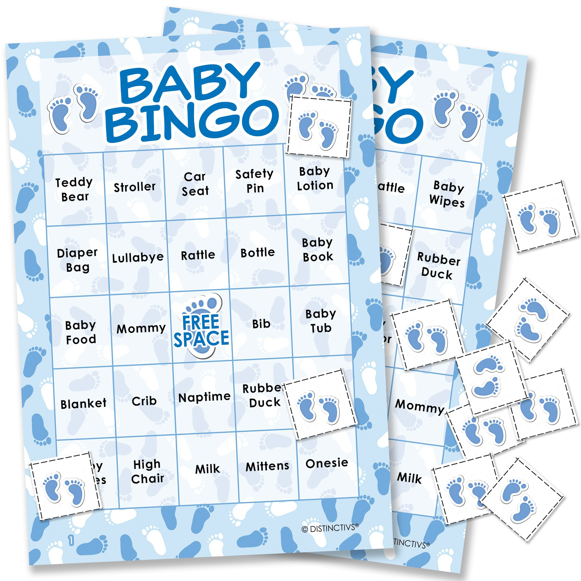 It's a Boy Baby Shower Bingo Game - 24 Guests