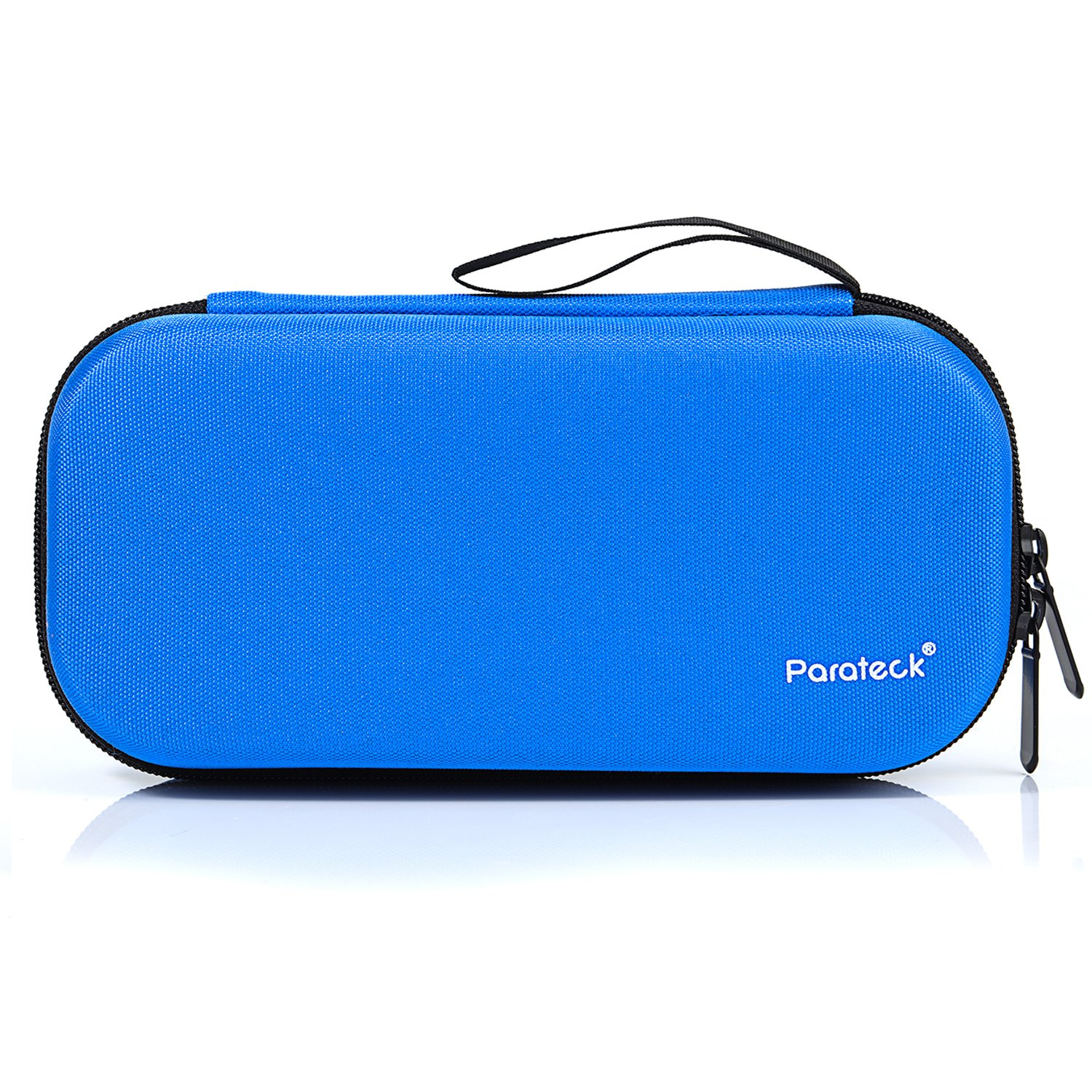 Insulin Cooler Case Temperature Display Diabetic Medical Travel Bag Insulated Cooling Case 3 Chill Pack 8 x 3.75 Inch (Blue)