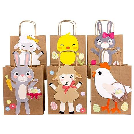 Papierdrachen Diy Osternester Für Kinder Mit Schafen Hasen Und Küken Ostergeschenke Für Kinder Und Erwachsene Osterdeko Ostern 2019