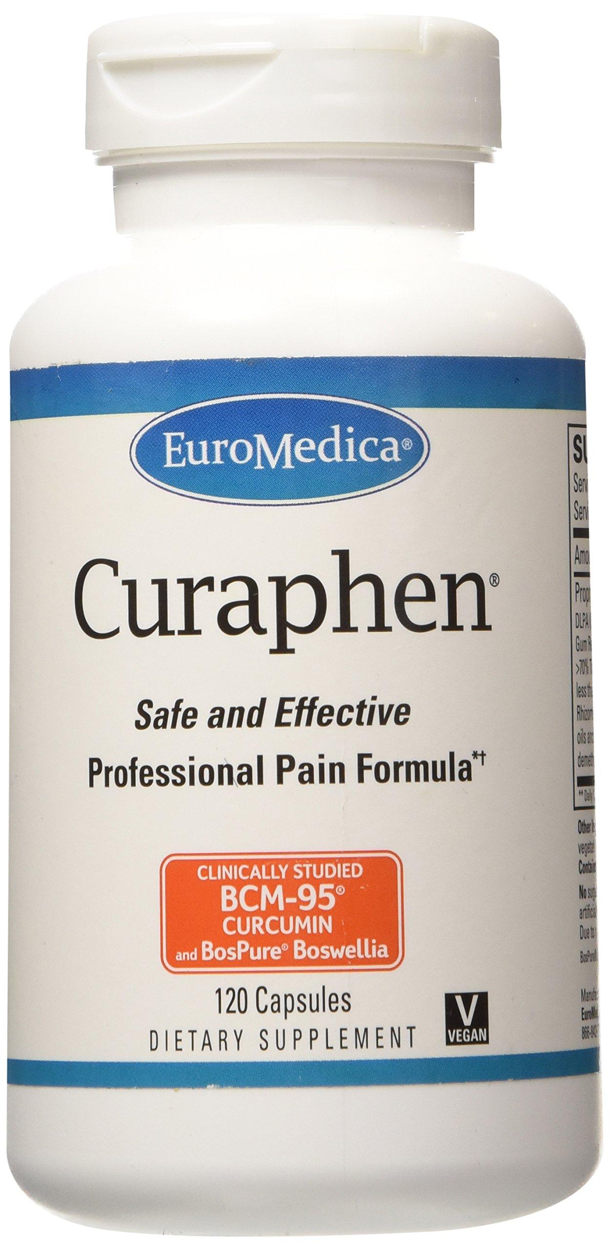 Euromedica Curaphen Vitamin Supplement, 120 Count