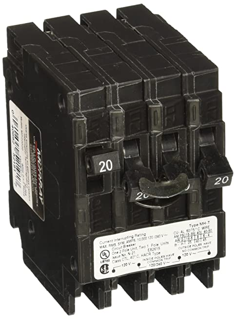 Murray MP22020 One 20-Amp Double Pole Two 20-Amp Single Pole Circuit Breaker