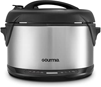 Gourmia Multifunction 6.5 Qt 1300W 1-Hour Electric Steamer