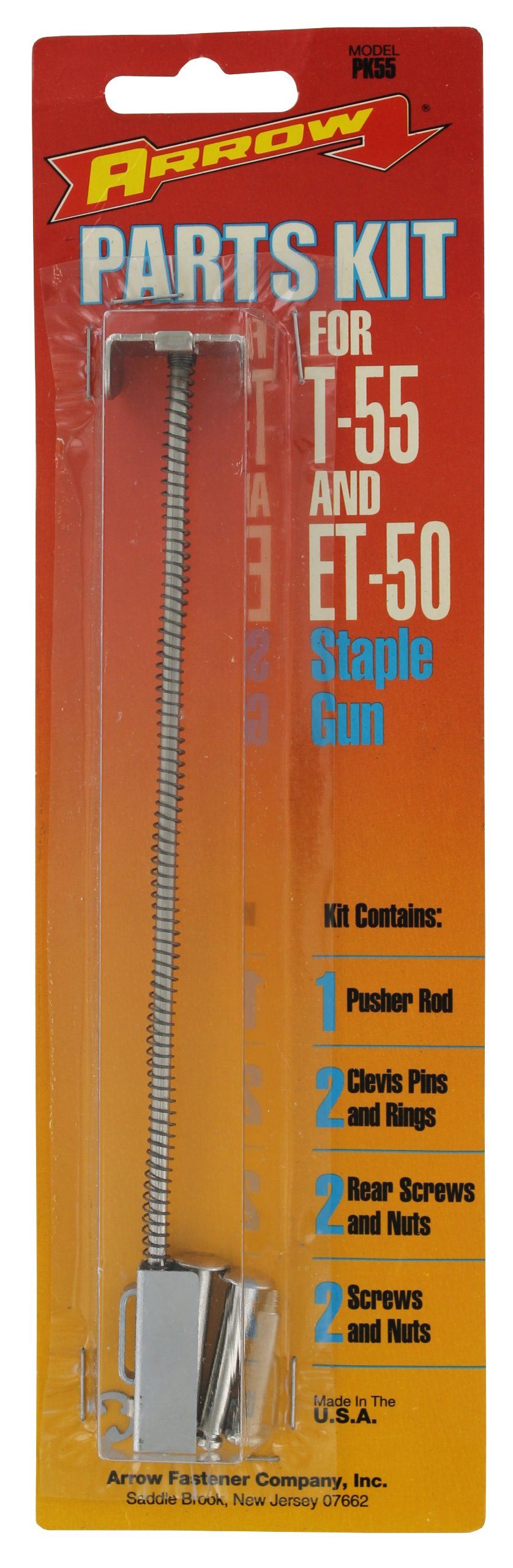 Arrow Fastener PK55 Parts Kit for T55, ET50 Staple Gun