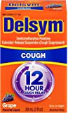 Delsym Adult Cough Suppressant, Grape, 3 Fluid Ounce