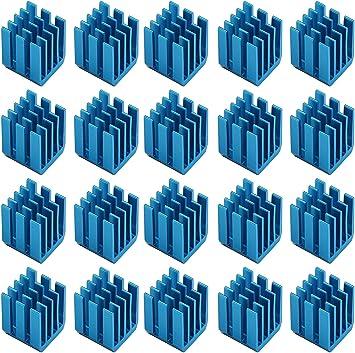 Easycargo 20 piezas Kit disipador calor para impresora 3D + Cinta ...