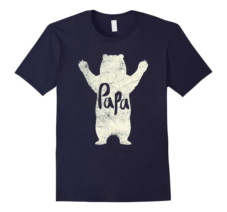 Big Papa Bear Hug T Shirt-FL