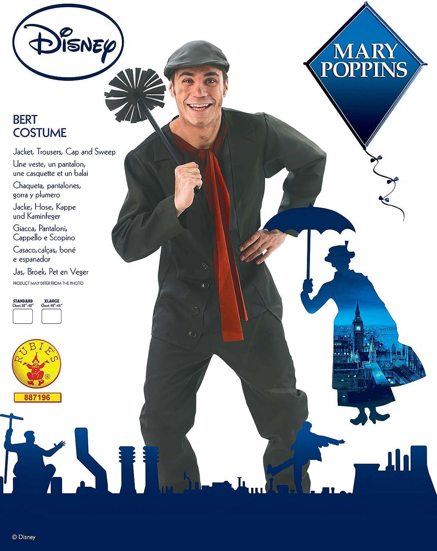 Rubies s – Disfraz de Oficial de Disney Mary Poppins Bert, Adulto ...