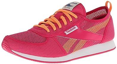 8d54cb813bad Reebok Women s Reebok Royal Cljogger Se Classic Shoe Pink Fusion Orange  White