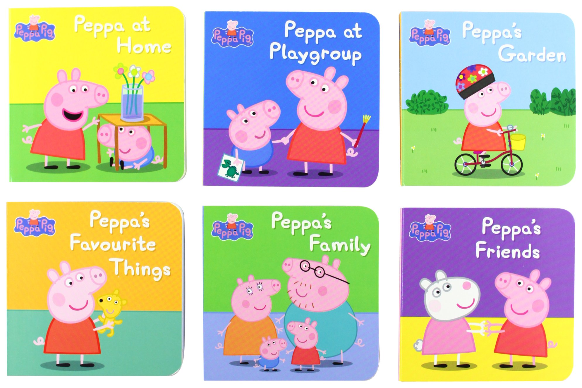 peppa pig little library ladybird 9781409303183 amazon com books