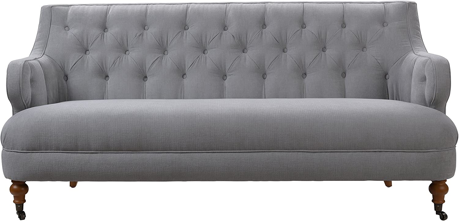 Jennifer Taylor Home Milano Sofa, Mineral Gray