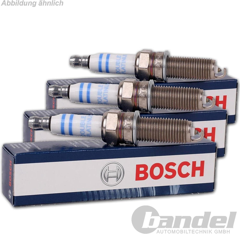 3 X Bosch Super Plus Fr7hc Spark Plugs Auto