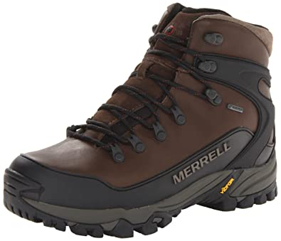 db80995f302c09 Merrell Men s Mattertal Gore-Tex Waterproof Dark Earth Leather Hiking Boots  8 D(M) US  Amazon.co.uk  Shoes   Bags