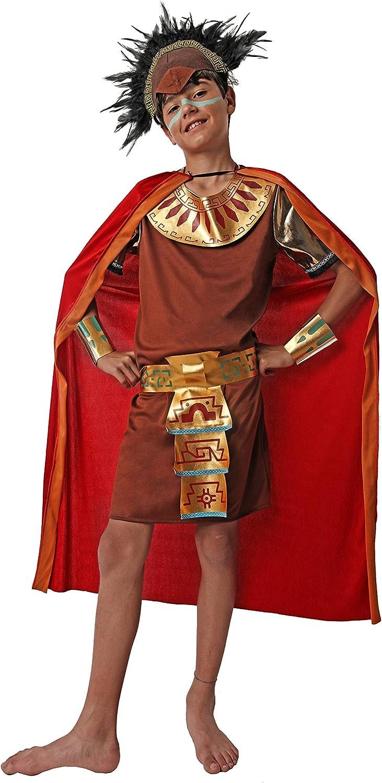 Costumizate! Disfraz de Maya para niño Talla 10-12 Especial para niños Fiestas de Disfraces o Carnaval