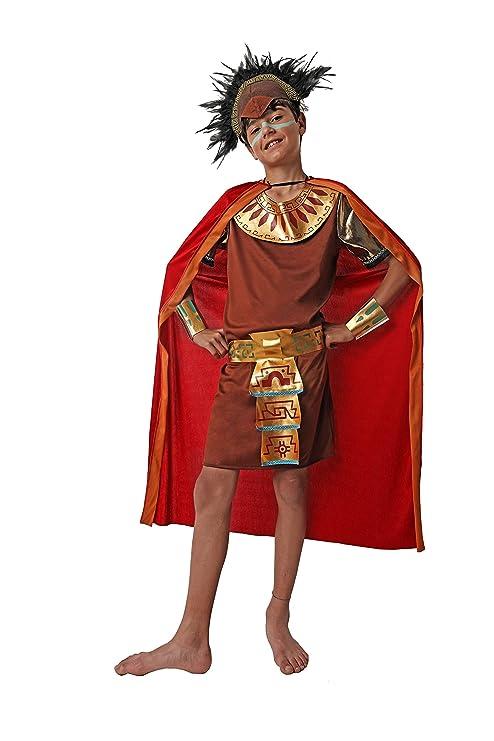 Costumizate! Disfraz de Maya para niño Talla 3-4 Especial para niños Fiestas de Disfraces o Carnaval