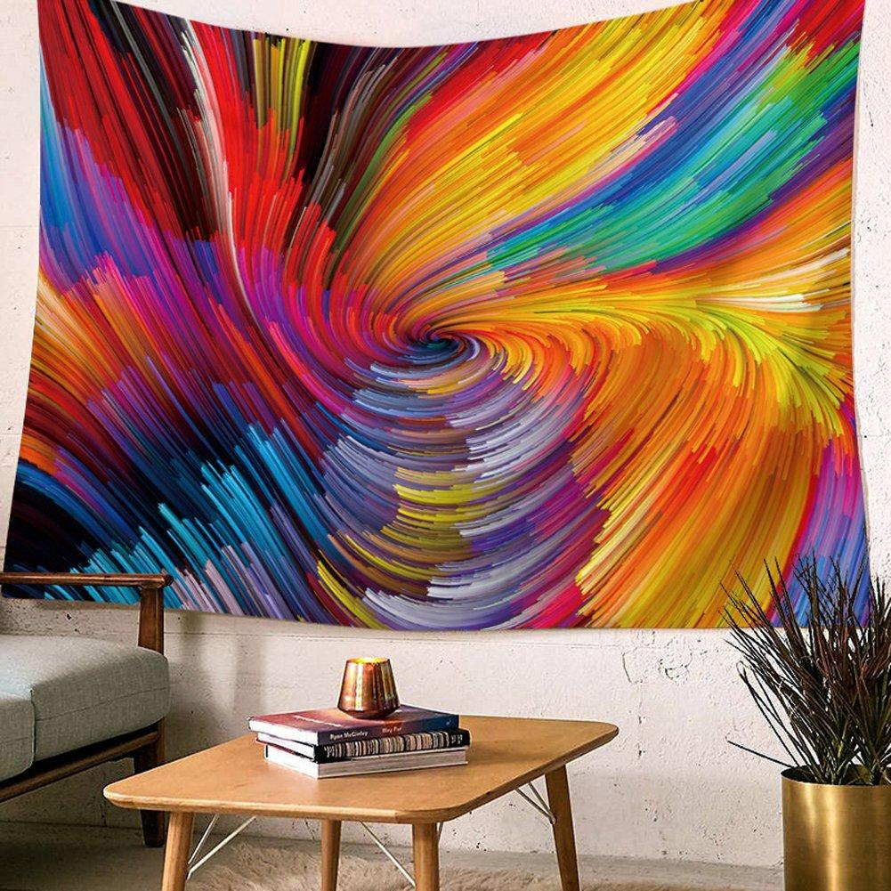 HANSHI porta parete tappeto moderno parete behang l' Artista di sarà Polyster panno tovaglia parete telo spiaggia tela parete Deko bella decorazione per la vostra stanza hyc42 1#