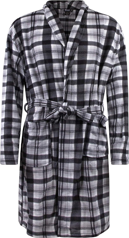 Mens Fleece Robe 100/% Polyester Ecko Unltd