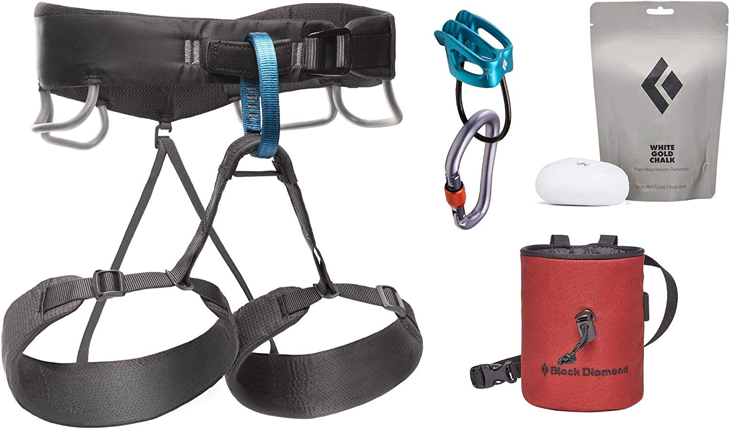 Black Diamond Momentum Harness Package : Sports & Outdoors