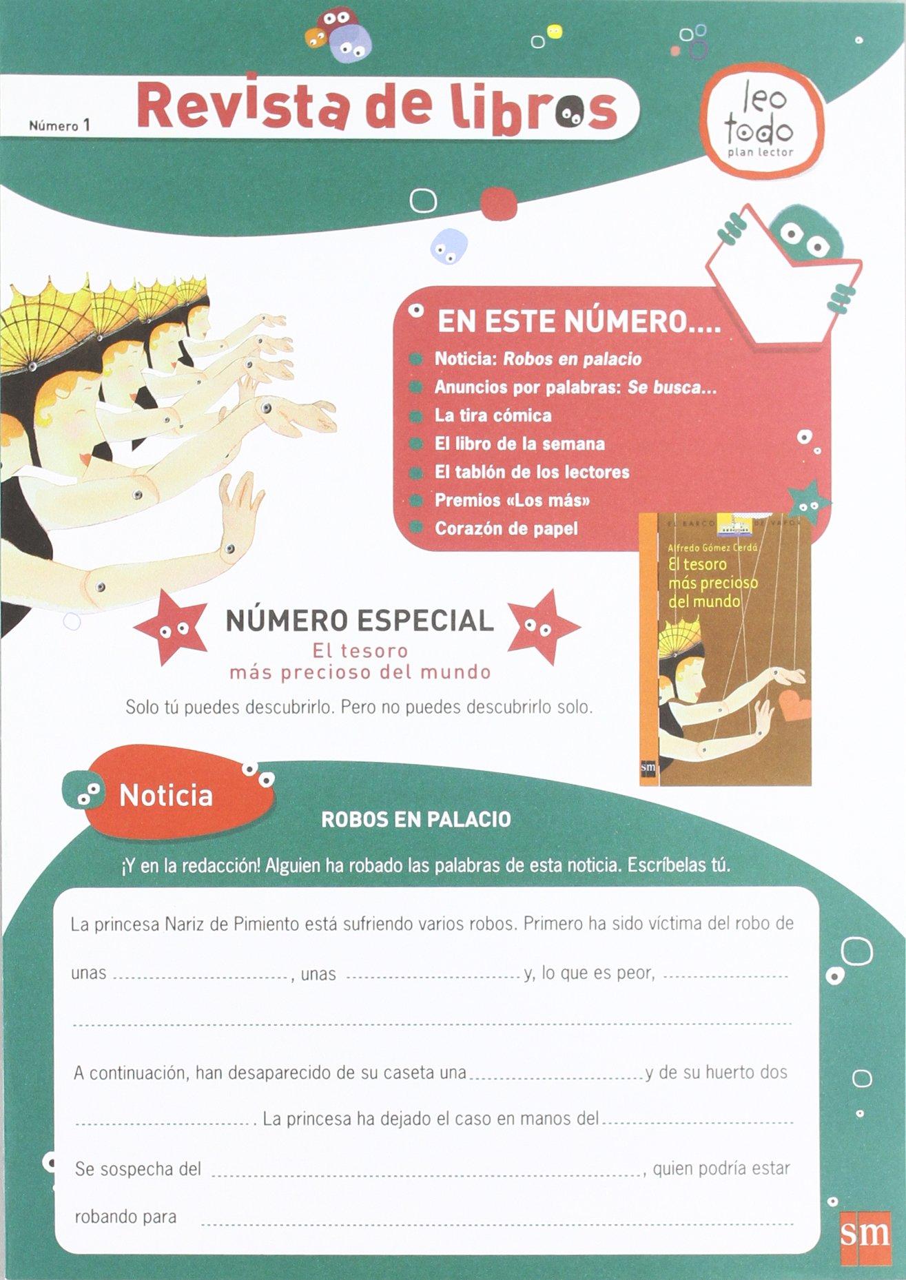 Leotodo, plan lector. 3 Ciclo Primaria. Nivel II. Caja: 9788467529203: Amazon.com: Books