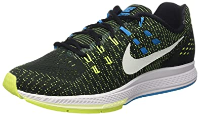 83a8f03fe8c Nike Air Zoom Structure 19 Mens Running Shoe (Black Bright Blue