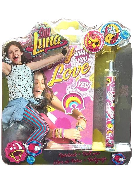 Soy Luna - Soy Luna - Blíster con libreta espiral y bolígrafo (Kids Euroswan KD