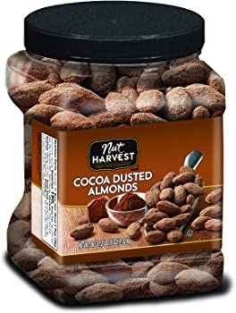 Nut Harvest 36 Oz Cocoa Dusted Almonds