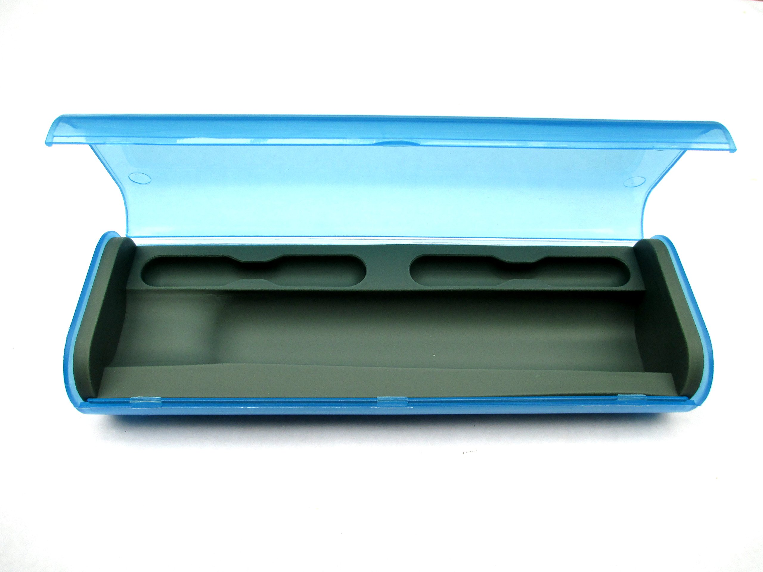 USonline911 Replacement Plastic Travel Case compatible with Braun Oral-B Toothbrushes D12,DB4510,D16,D20,OC20,600,650,1000,2000,3000… (Blue)