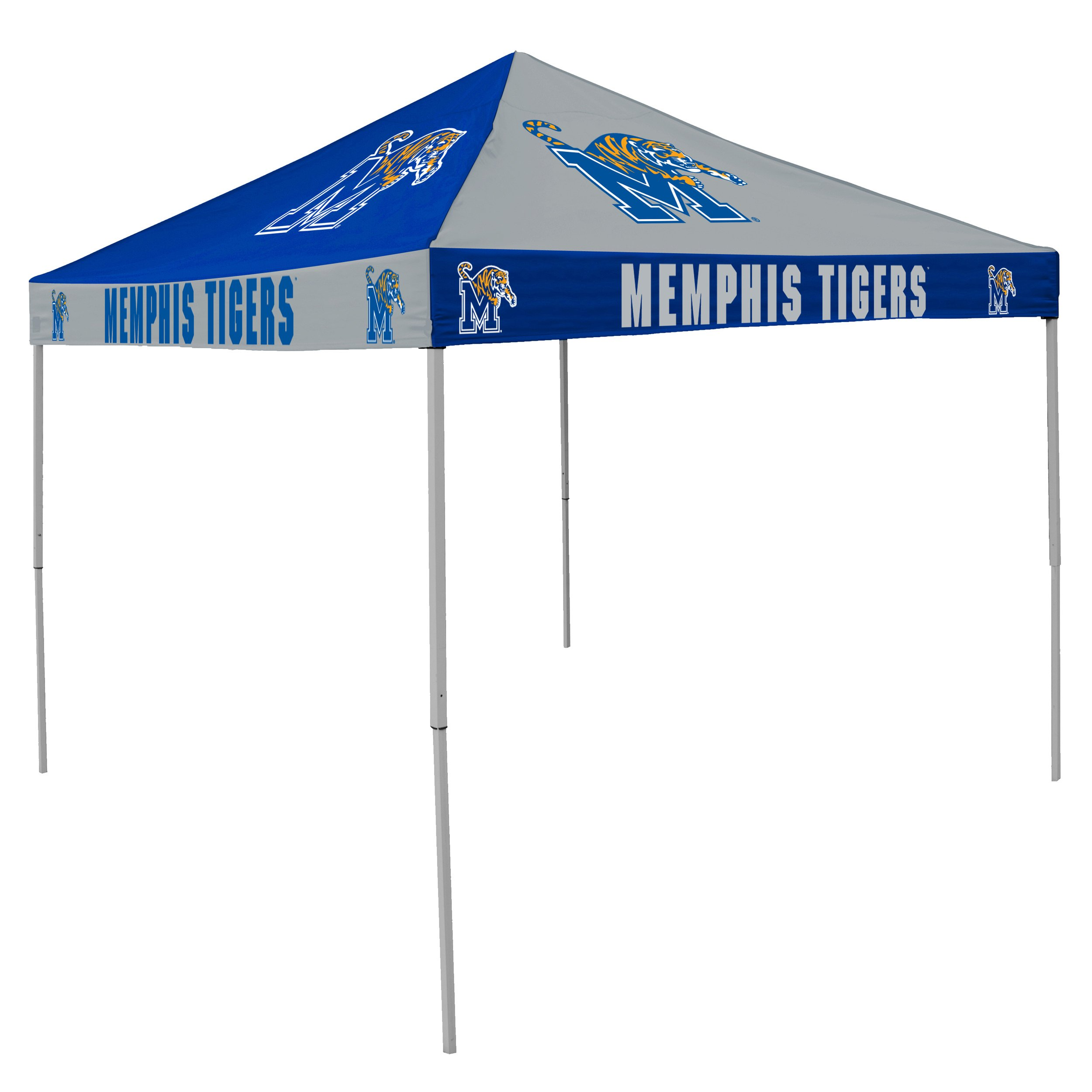 Logo Brands NCAA CB Tent, Memphis, 9 foot X 9 foot