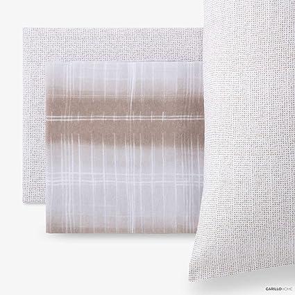LENZUOLA 1 piazza in flanella di cotone letto singolo Line colore ...