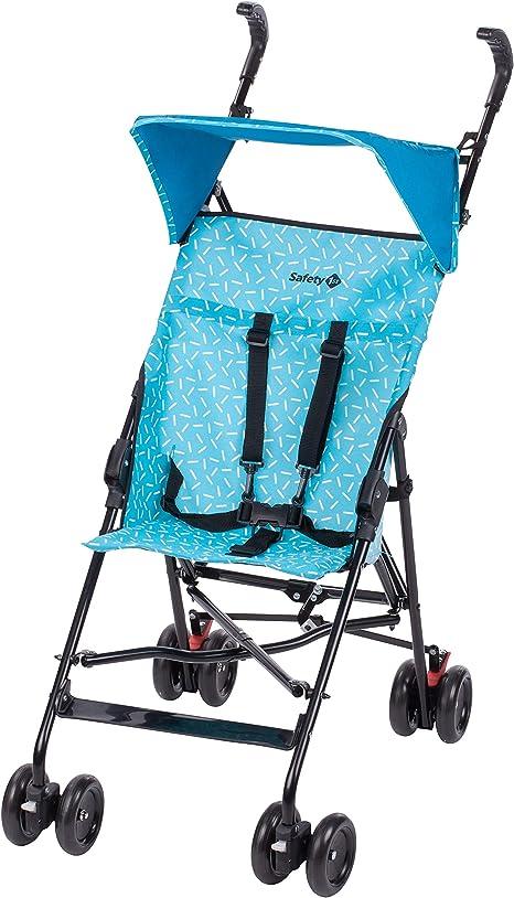 Opinión sobre Safety 1st Peps Silla de Paseo ligera pesa solo 4,6 kg, plegable y compacta, Cochecito de viaje, con capota solar, color donuts party blue