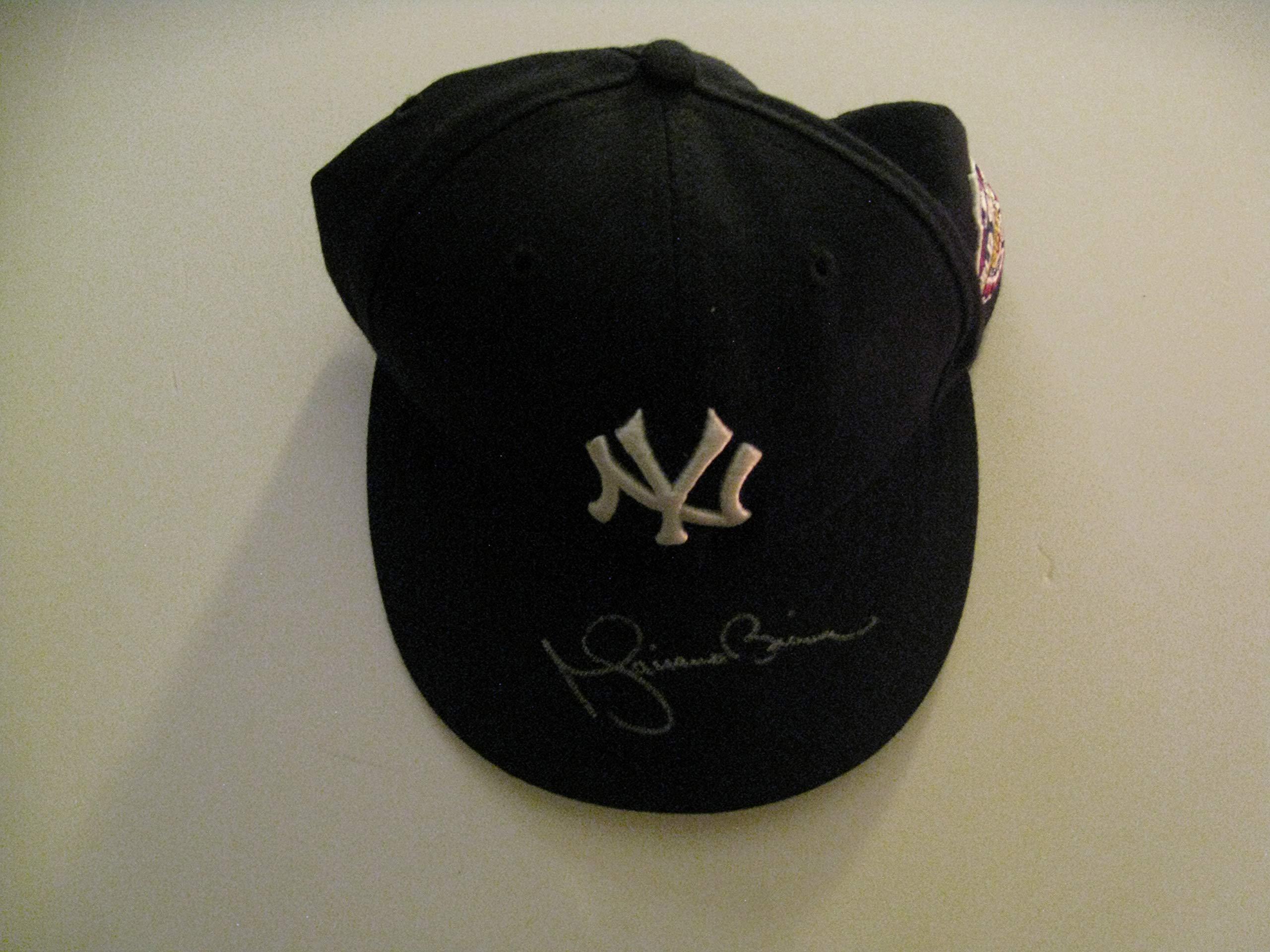 Mariano Rivera Autographeed/Signed NY Yankees 2001 World Series Hat COA