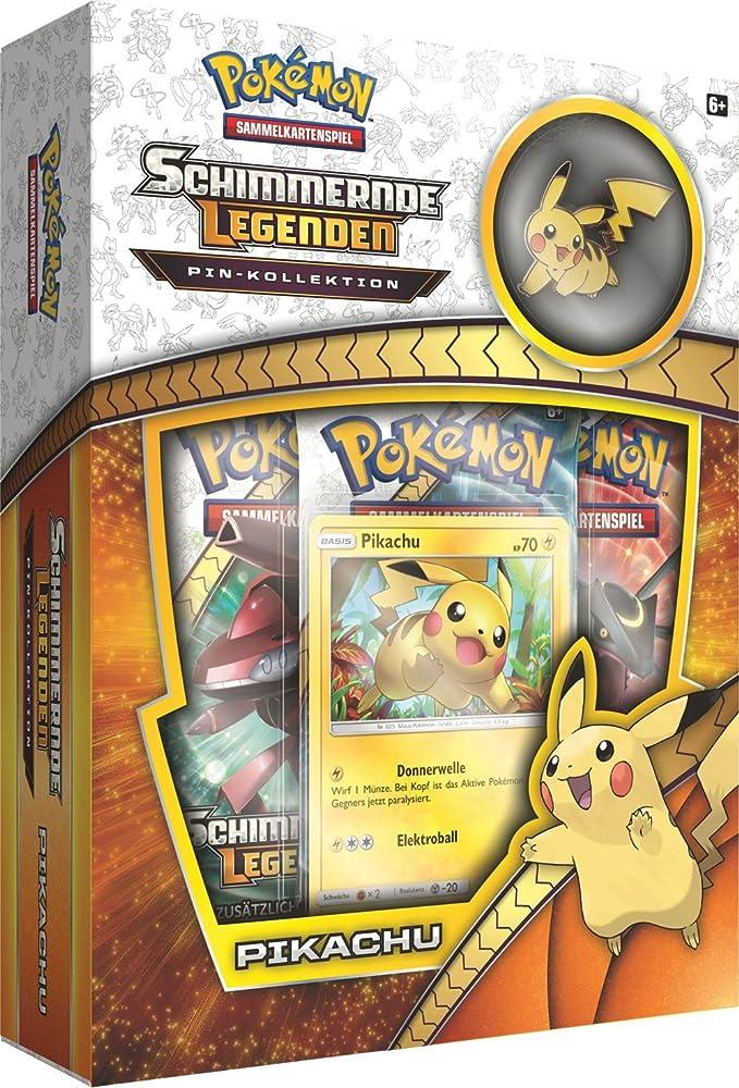 """Pokemon 25965""""PKM sm03.5Pikachu broches Boîte"""
