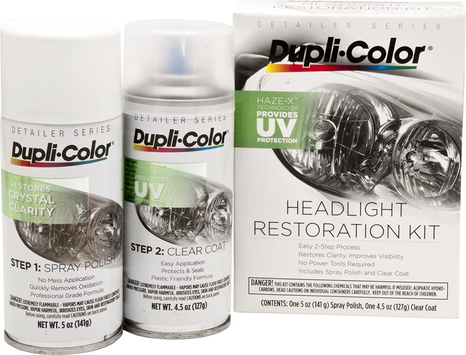 Dupli-Color Clear Headlight Restoration Kit