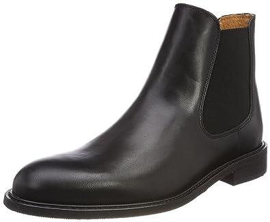 Selected Sel Sutton NOOS 16028261, Bottes homme - Noir black, 41 EU