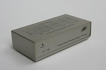 commander en ligne sélection spéciale de style exquis Amazon.com: TCC TC-750 SILVER Audiophile Phono Preamp, Pre ...