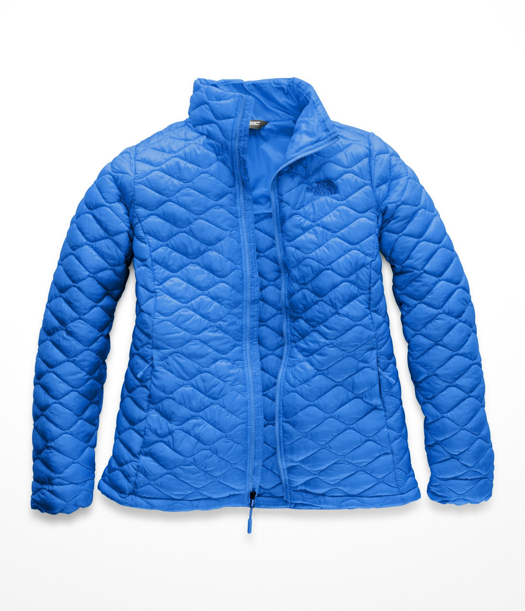 The North Face Women Thermoball Full Zip - Bomber Blue Matte - XL
