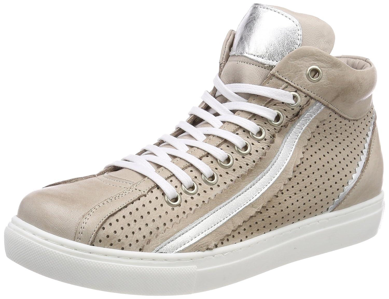 Andrea Conti 0344505, Zapatillas Altas para Mujer 41 EU|Gris (Silbergrau / Silber 418)