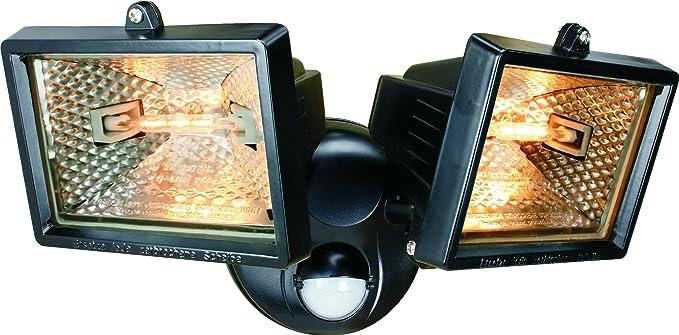 Smartwares ES120/2 - Luz de seguridad, luces dobles, sensor de movimiento,