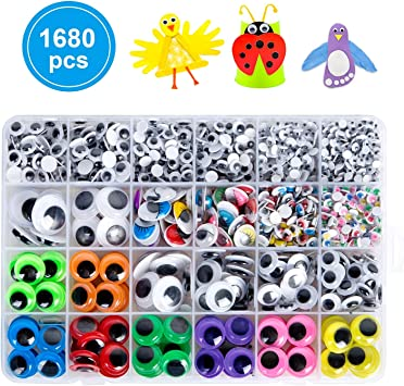 Eye//Nose//Mouth Self-adhesive Paper Stickers Roll Children DIY Craft Materials MW