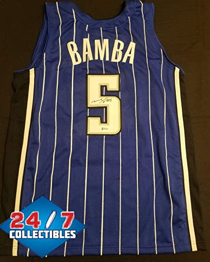 timeless design f8291 523fb Mo Bamba Autographed Signed Orlando Magic Jersey - Beckett ...