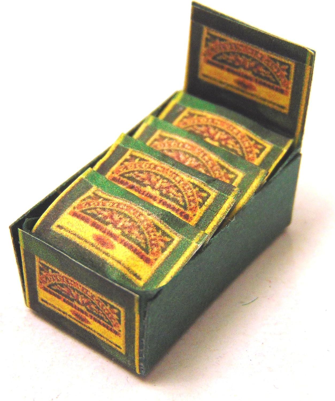 Tumdee Miniatures Dolls House Miniature Golden Virginia Display Shop Box