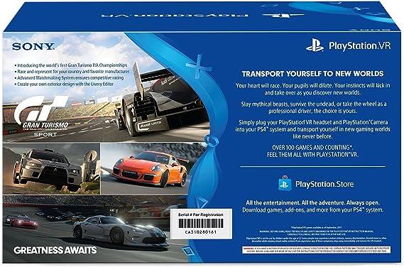 Playstation VR Bundle (3 artículos)-Gran Turismo Sport Bundle ...