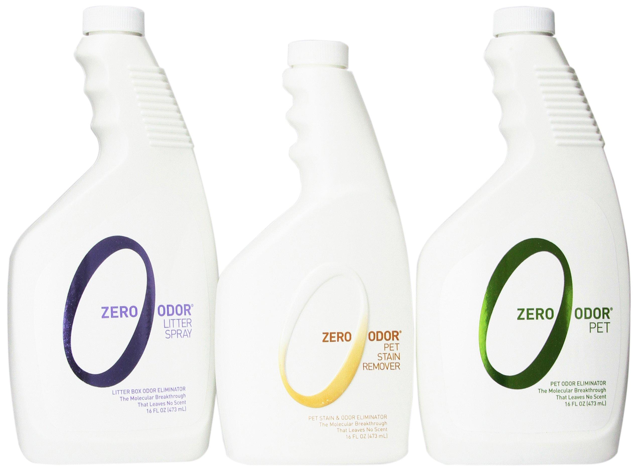 Zero Odor ZOP 1065 Multi Pet Odor Eliminator Kit by Zero Odor